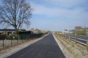Nieuwe ingang Berkelseweg AMG.Schmidtpark