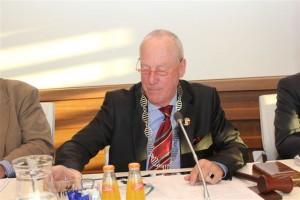 Burgemeester Jaap Wolf van Westerrotte
