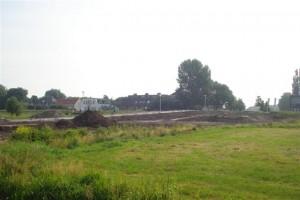 Talud nieuwe brug Naardermeerstraat