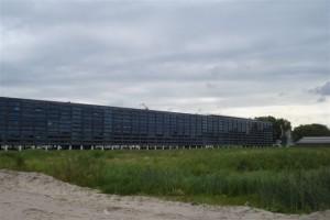 Nieuwe gemeentehuis vanaf Wilderszijde
