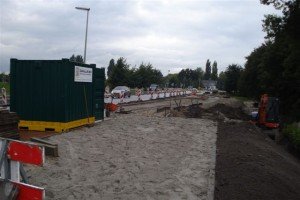 Nieuwe bushalte bij Berkelseweg Bergschenhoek