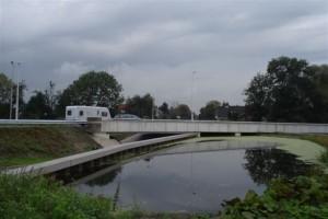 Nieuw viaduct met fietstunnel N209 Bergschenhoek