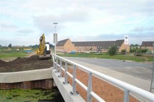 Nieuwe brug Naardermeerstraat