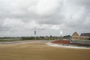 Brug Naardermeerstraat in gebruik