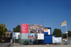 Berkel centrum in aanbouw
