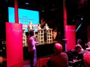 PvdA Kandidaat lijsttrekkersdebat Europa in Rotterdam