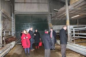 PvdA op bezoek bij Vleeshouderij Groenzoom