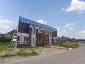 Voorzijde Bleiswijkse nieuwbouw: Lansingerlandse Folly