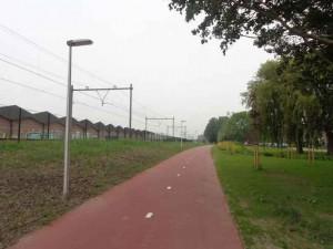 Fietspad station Rodenrijs-station Westpolder is klaar!
