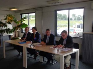 Persconferentie over komst station Bleiswijk-Zoetermeer