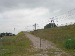 Hier komst station Bleiswijk-Zoetermeer aan de Zoetermeerse kant