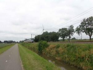 De trein is er al en op deze plek komt in 2018 station Bleiswijk-Zoetermeer