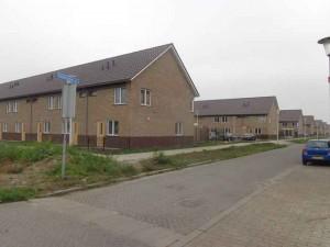Nieuwbouw Meerpolder Berkel bij Oostmeerlaan bijna gereed.