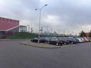Parkeerplaats station Rodenrijs is overdag altijd 100% bezet.