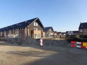 Laatste nieuwbouw in de Bleiswijkse Tuinen