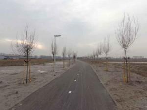 Fietspad park De Polder