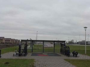 Sporthonk bij sportpark Berkel