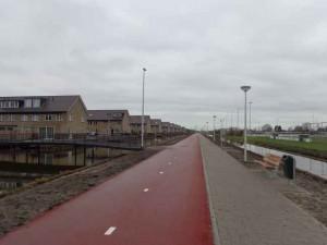 Nieuw fietspad Oostmeerlaan-Oudelandselaan