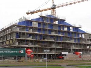 """Nieuwbouw """"de Eilanden"""", hoek Klapwijkseweg-Oostmeerlaan"""