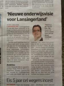 AD/RD dd. 20.02.2015: PvdA als de échte onderwijspartij!
