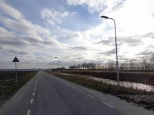 Cyclamenweg met straatverlichting