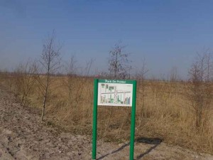 Ingang Park de Polder