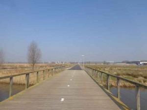 Park de Polder fietspad Wilderszijde
