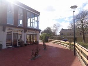 Nieuw terras in Berkel centrum