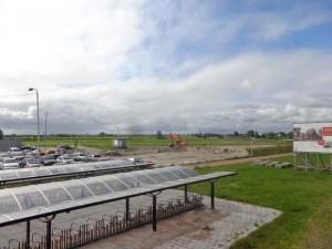 Parkeergarage station Wetspolder in aanleg