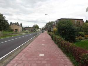 Nieuw fietspad Noordeindseweg