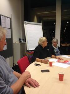 Lutz Jacobi & Astrid Oosenbrug waren deze week bij de evaluatie van PvdA Ombudsteams Zoetermeer & Lansingerland