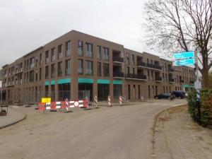 Bijna klaar! Bergschenhoek winkelcentrum.