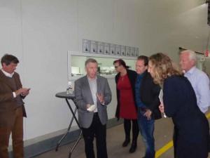 PvdA op bezoek bij Koppert