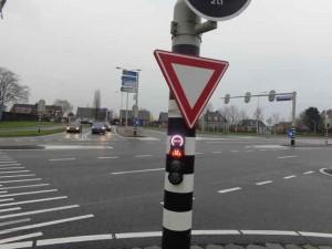 Kruising N209 bij Anthuriumweg Bleiswijk