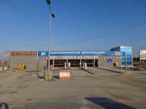 Parkeergarage Westpolder bijna klaar