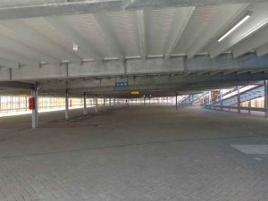 Ruime parkeergarage Westpolder