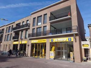 Nieuwe Jumbo aan het Rondom & Dorpsstraat Bergschenhoek