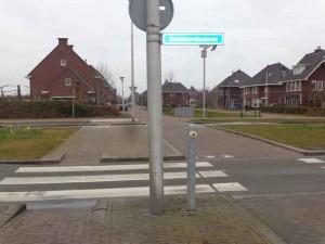 Beveiligde oversteek Oudelandselaan Berkel Westpolder
