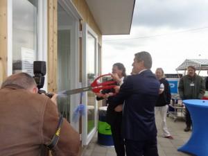 Opening fietsenstalling station Berkel Westpolder