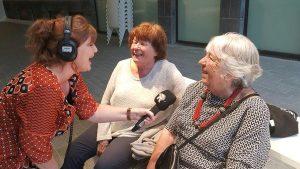 De Kralingse meisjes bij RTV Rijnmond Marcia Tap op Wederopbouwdag!