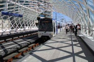 Nieuwe Metro E station bij Den Haag centraal