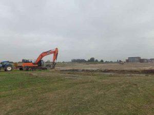Start bouw Parkzoom Bergschenhoek