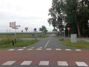 Links Lansingerland, rechts Rotterdam: Wildersekade