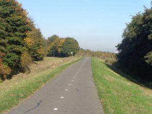 Onverlichte Landscheiding in Lansingerland