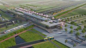 Nieuwe station Lansingerland-Zoetermeer